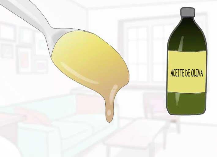 Añade de 1 a 3 cucharillas de aceite de oliva.