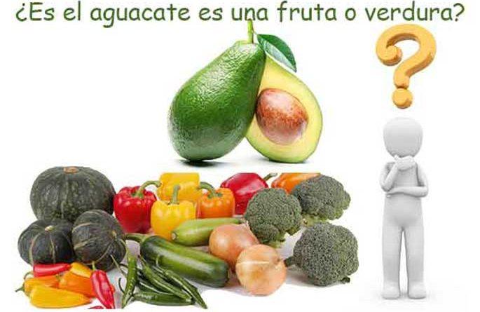 El aguacate fruta o verdura